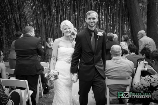 wedding exit