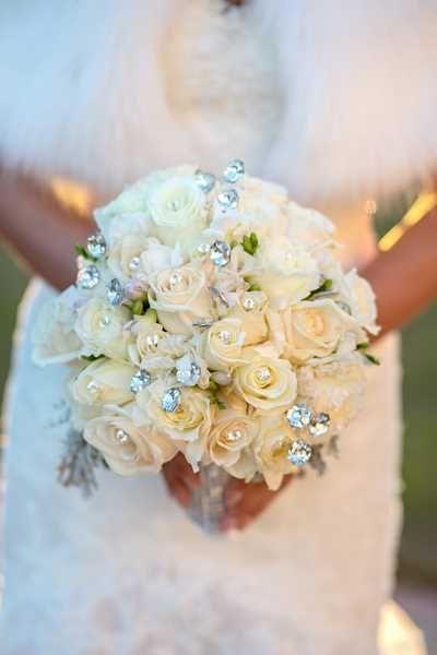 Glamorous Winter Bouquet