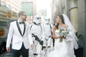 Star Wars Inspired Wedding Theme