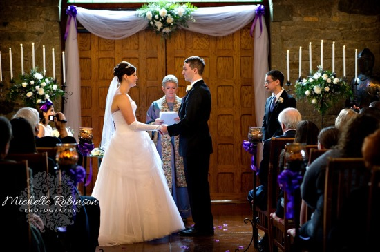 Castle Fairy Tale Wedding Ceremony
