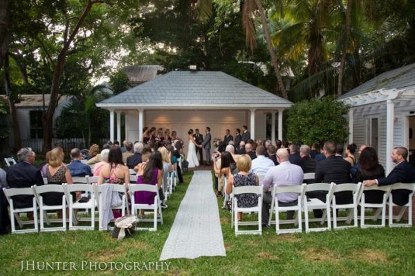 Wedding Ceremony Old Town Manor Key West