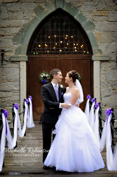 Wedding at Castle McCulloch North Carolina
