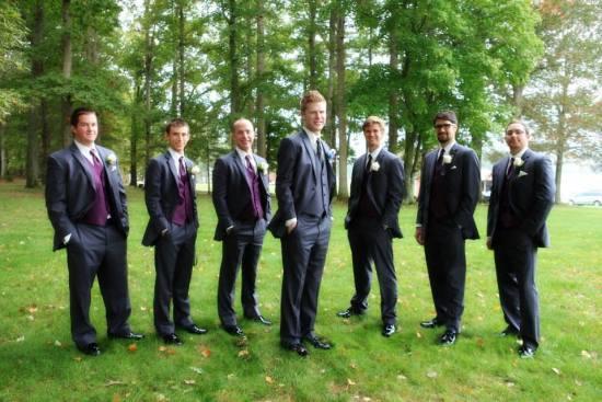 Groomsmen - Barn Wedding