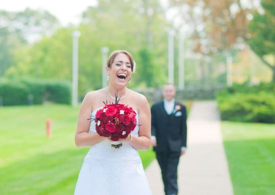 First Look - Wedding Photo of the Day