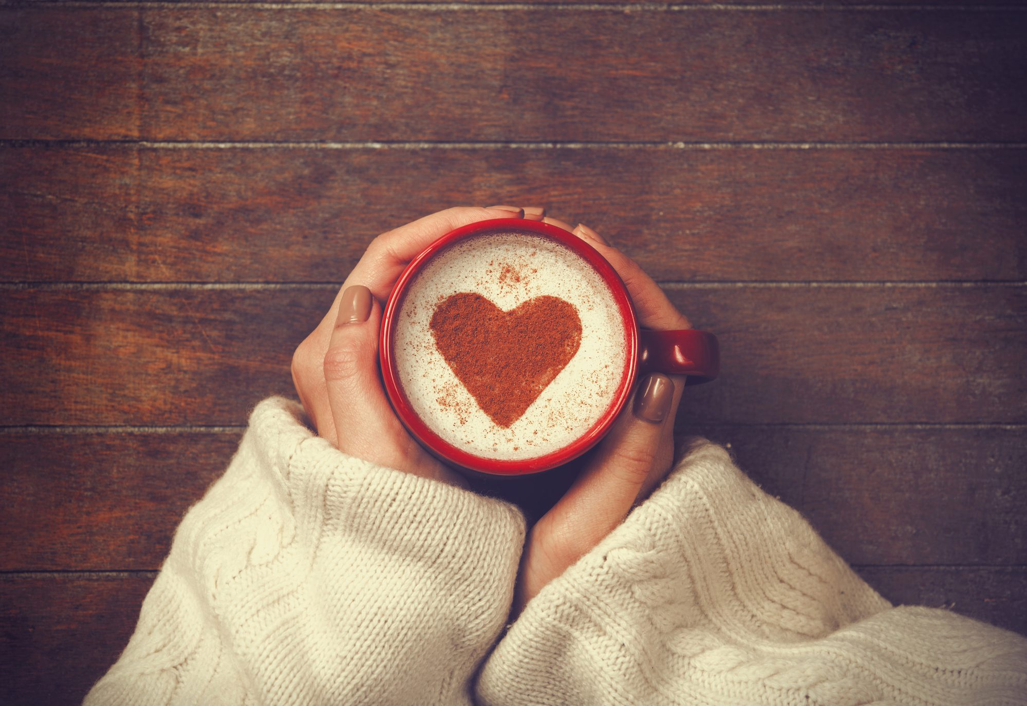 love, one word, coffee
