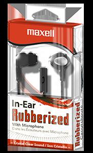 In-Ear Rubberized Earbuds