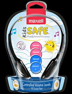 Écouteurs avec limiteur de volume Kids Safe