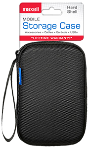 Small Mobile Storage Case – Hard Shell