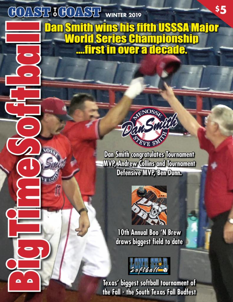 Big Time Softball Winter 2019 Cover
