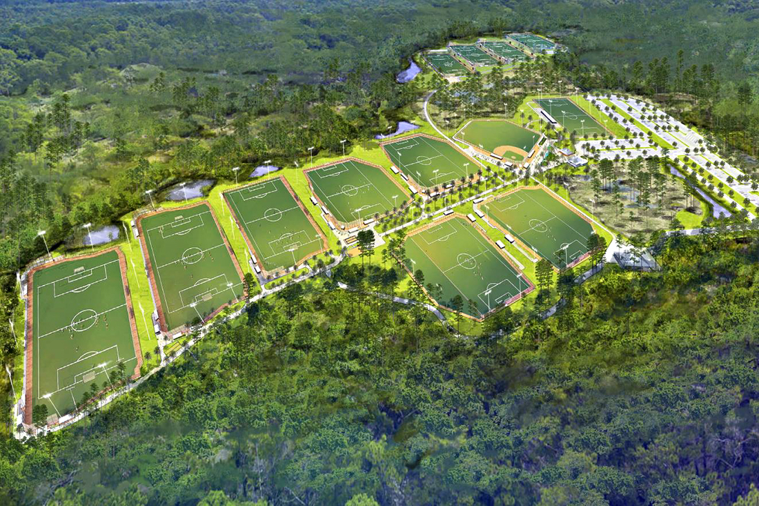 Panama City Beach Sports Park & Stadium Complex At Breakfast Point Receives Final Approval