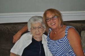 Terrie & mom