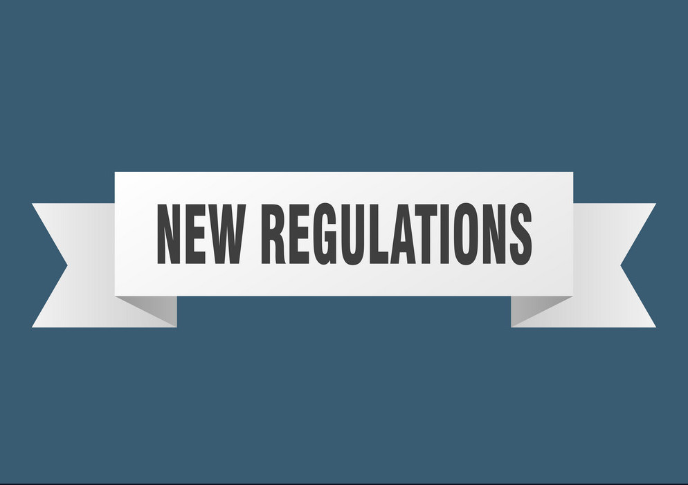 new regulations
