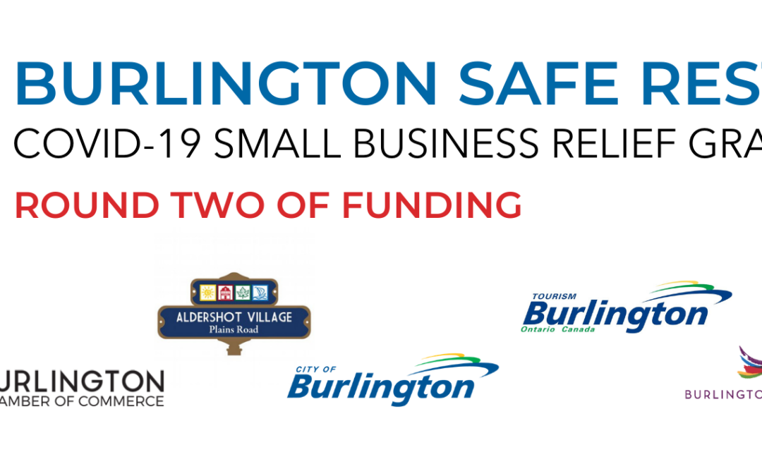 Second Round of Burlington Safe Restart Funding Recipients Announced