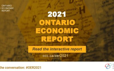 2021 Ontario Economic Report Key Findings