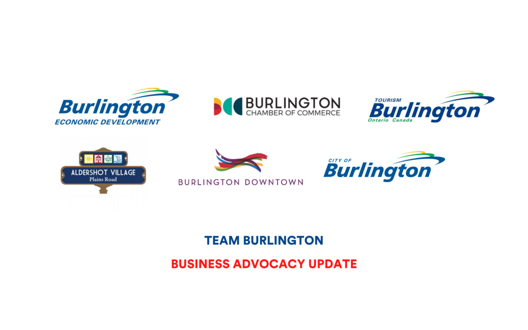 City of Burlington and Team Burlington calling for renewed funding to support future proofing and digital adoption for local business
