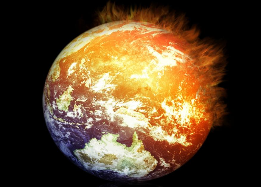 Earth on Fire