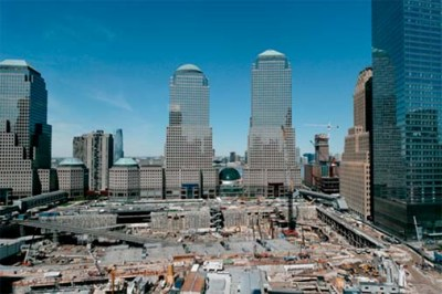 Ground Zero Construction Site, New York