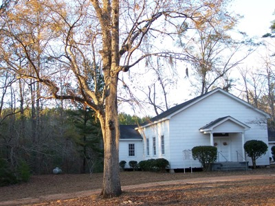 Providence UMC, Near the Family Farm in Alabama