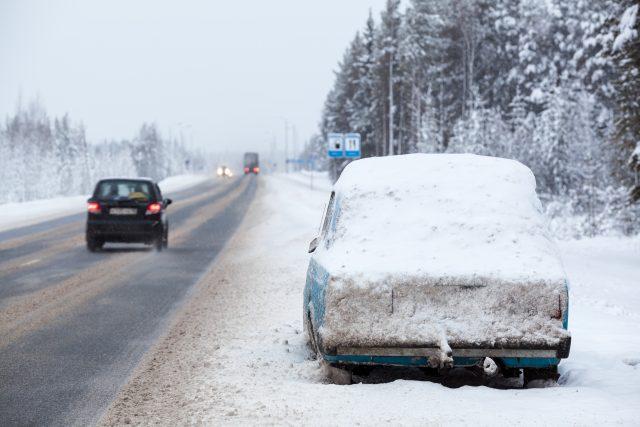 Snowstorm Traffic