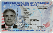 Most recently issued US Passport card