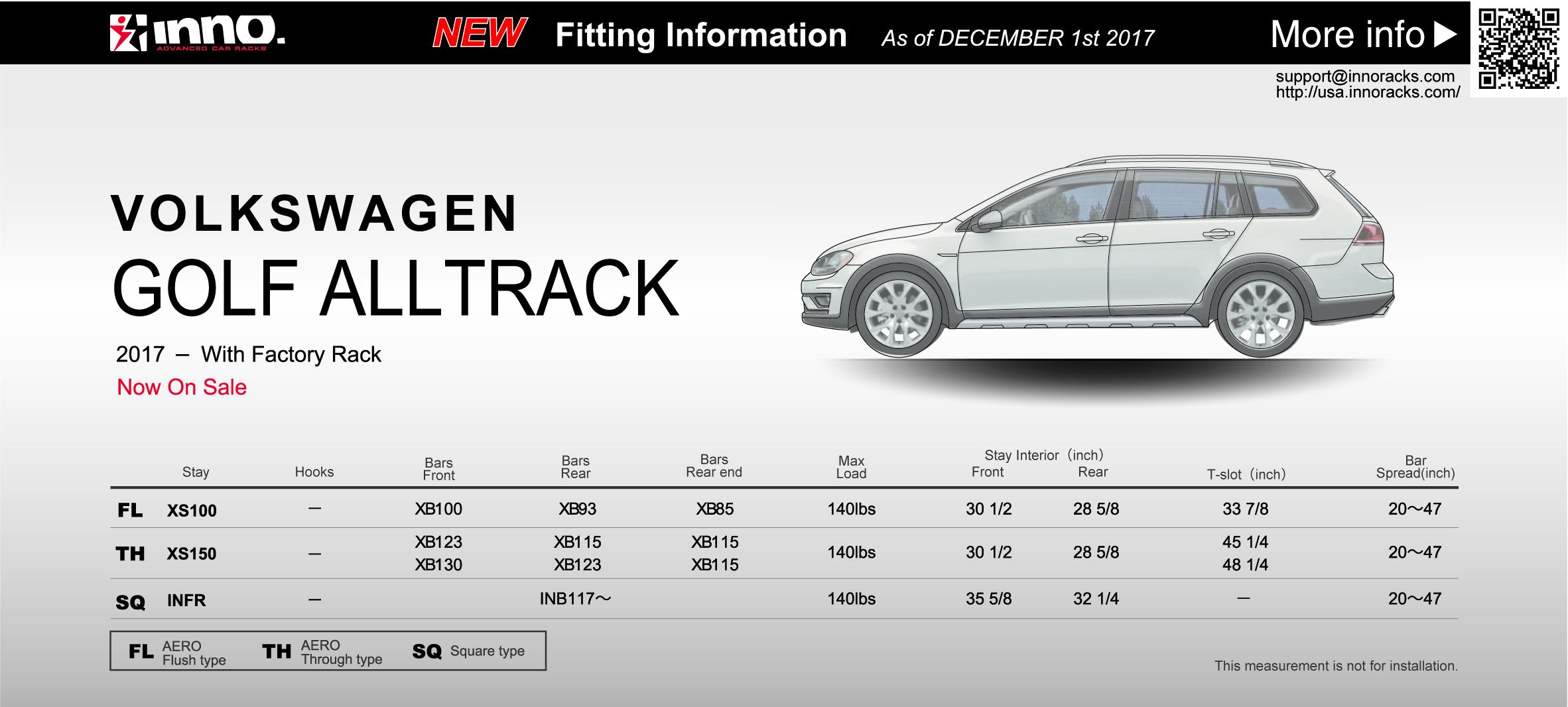 2017 Volkswagen Golf All Track