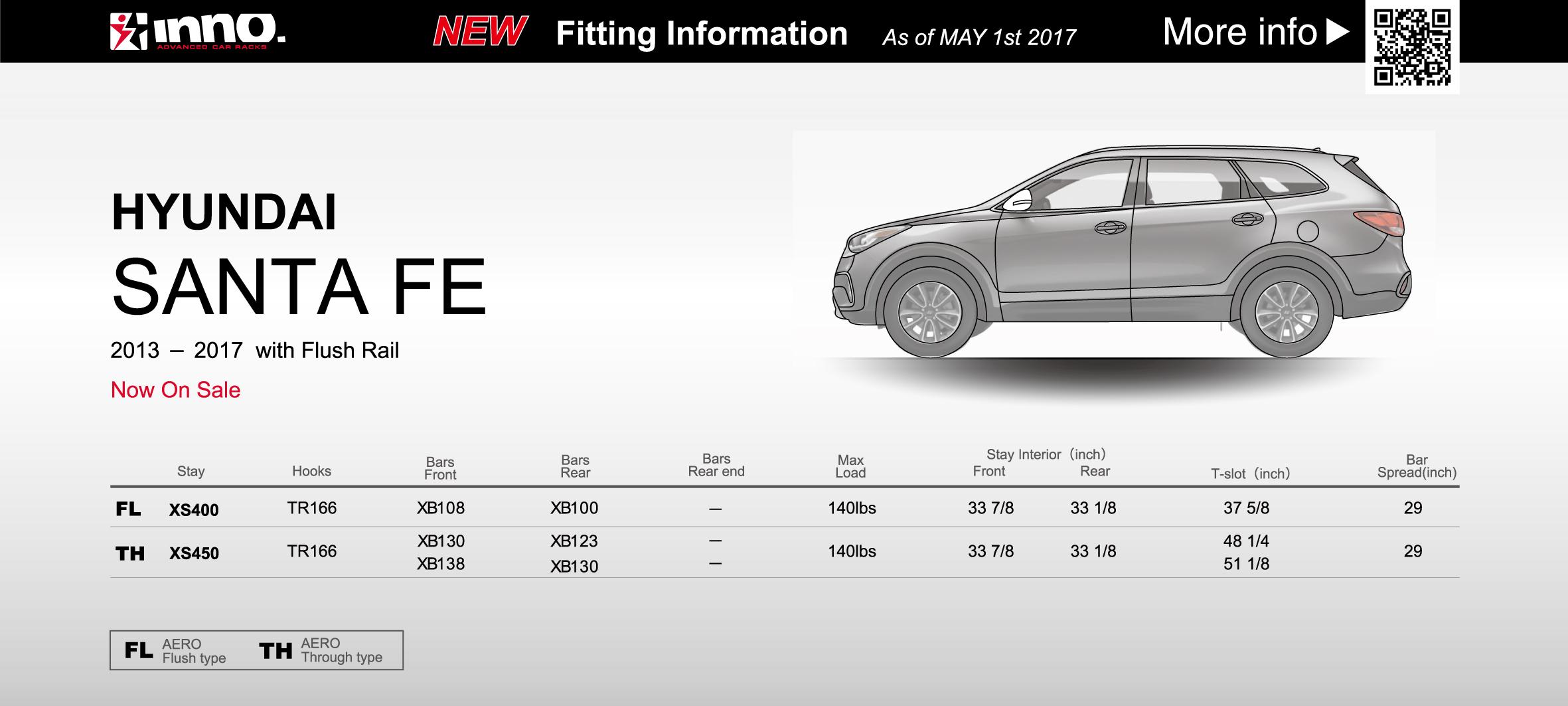 2013-2017 Hyundai Santa Fe