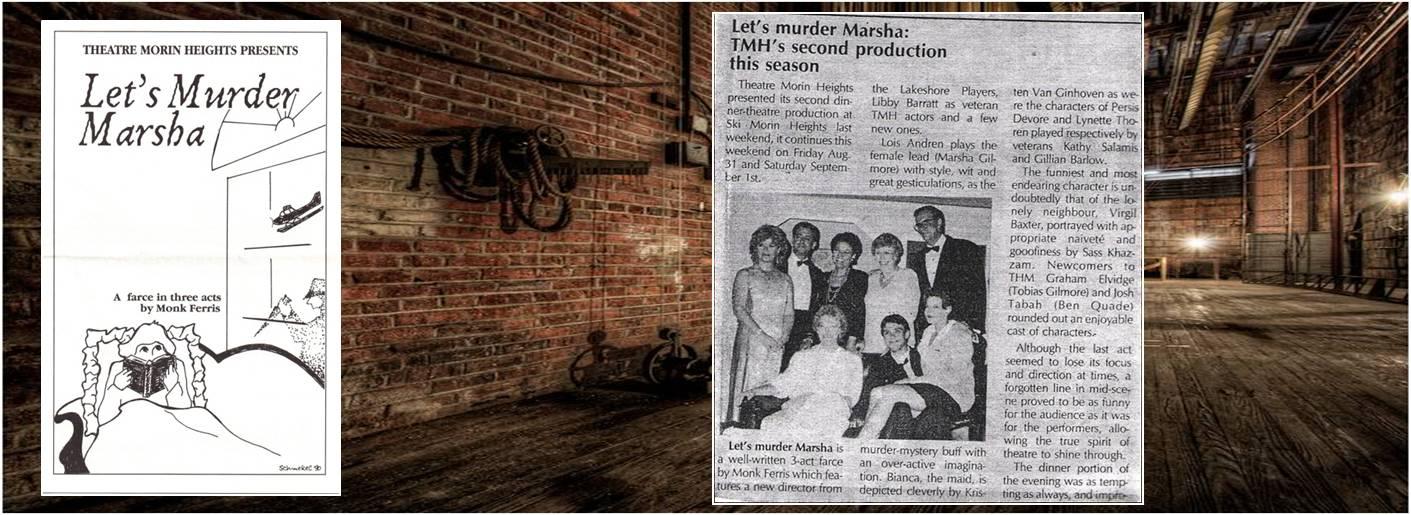 1990 Lets Murder Marsha