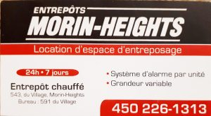 Entrepôts Morin-Heights