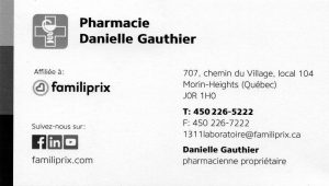 Pharmacie Danielle Gauthier