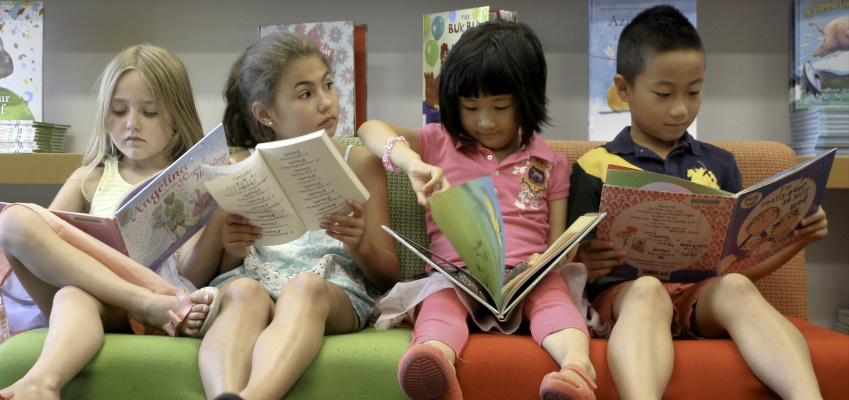 Reading Fluency, Comprehension, Writing and Grammar are all important in the child's development.