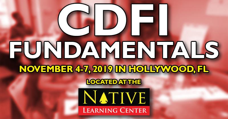 CDFI Fundamentals