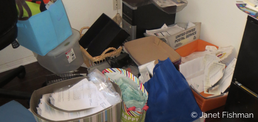 Banish Boxes, Bins, Bags, Blocks & Baskets