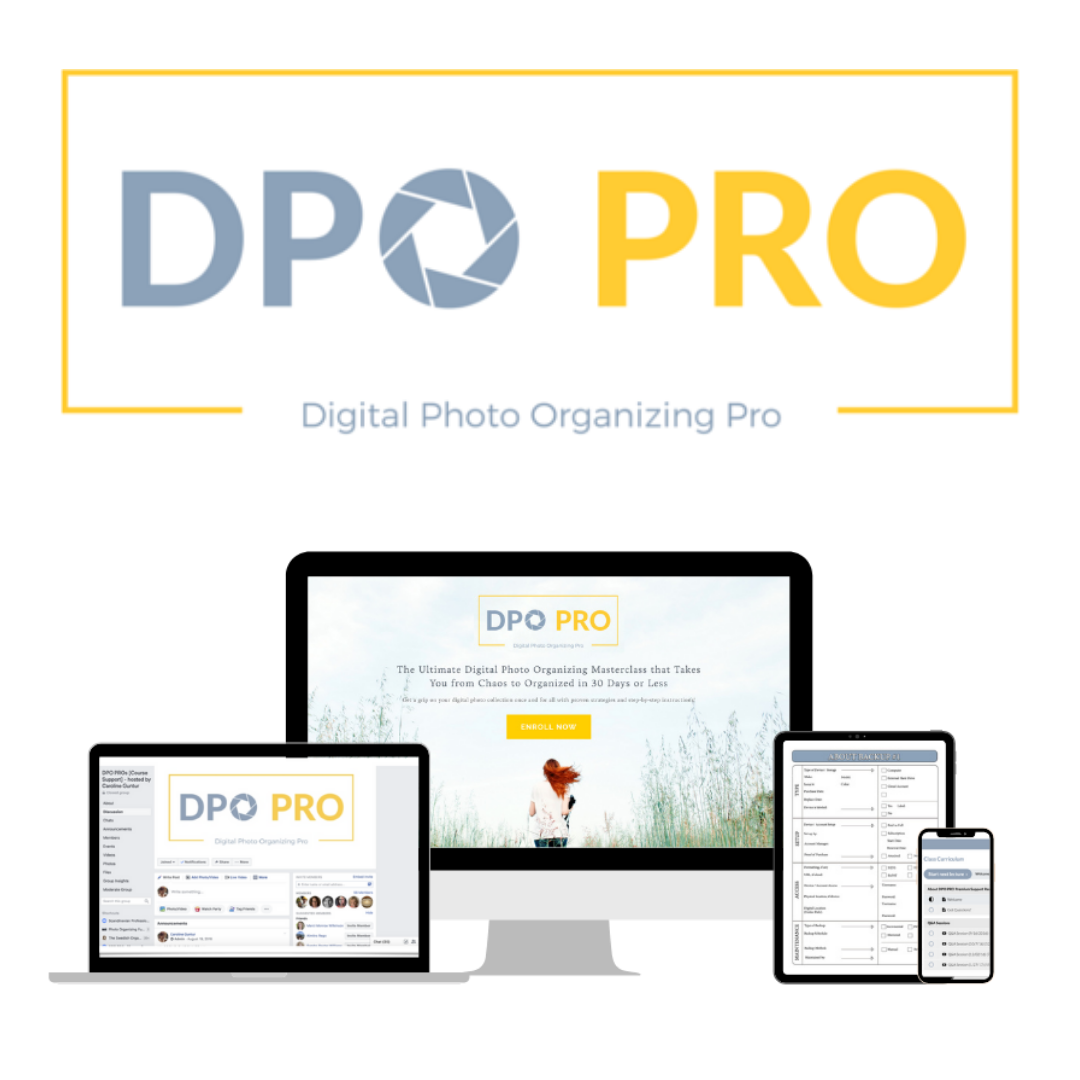 DPO PRO: The Ultimate Photo Organizing Masterclass