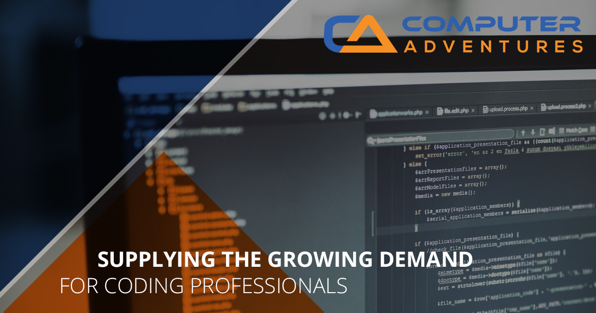 Supplying the Growing Demand for Coding Professionals