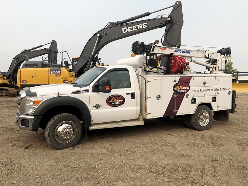 Service Truck Heavy Equipment Spruce Grove