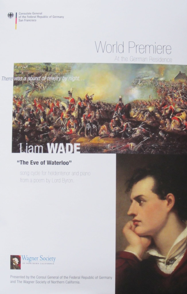 The Eve of Waterloo - Invitation Wagner Society