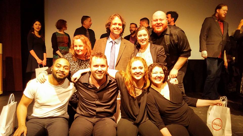 Team Blue - the winner of the audience's vote 2016: Antoine Griggs, Vynnie Meli, Andrew Bayles, Liam Wade, Julie Trammel, Kristin Kenning, Laurie Marie Tossing, Will Green