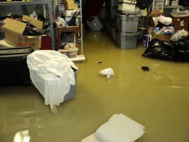 Burst Pipe and Plumbing Leak = Water Damage