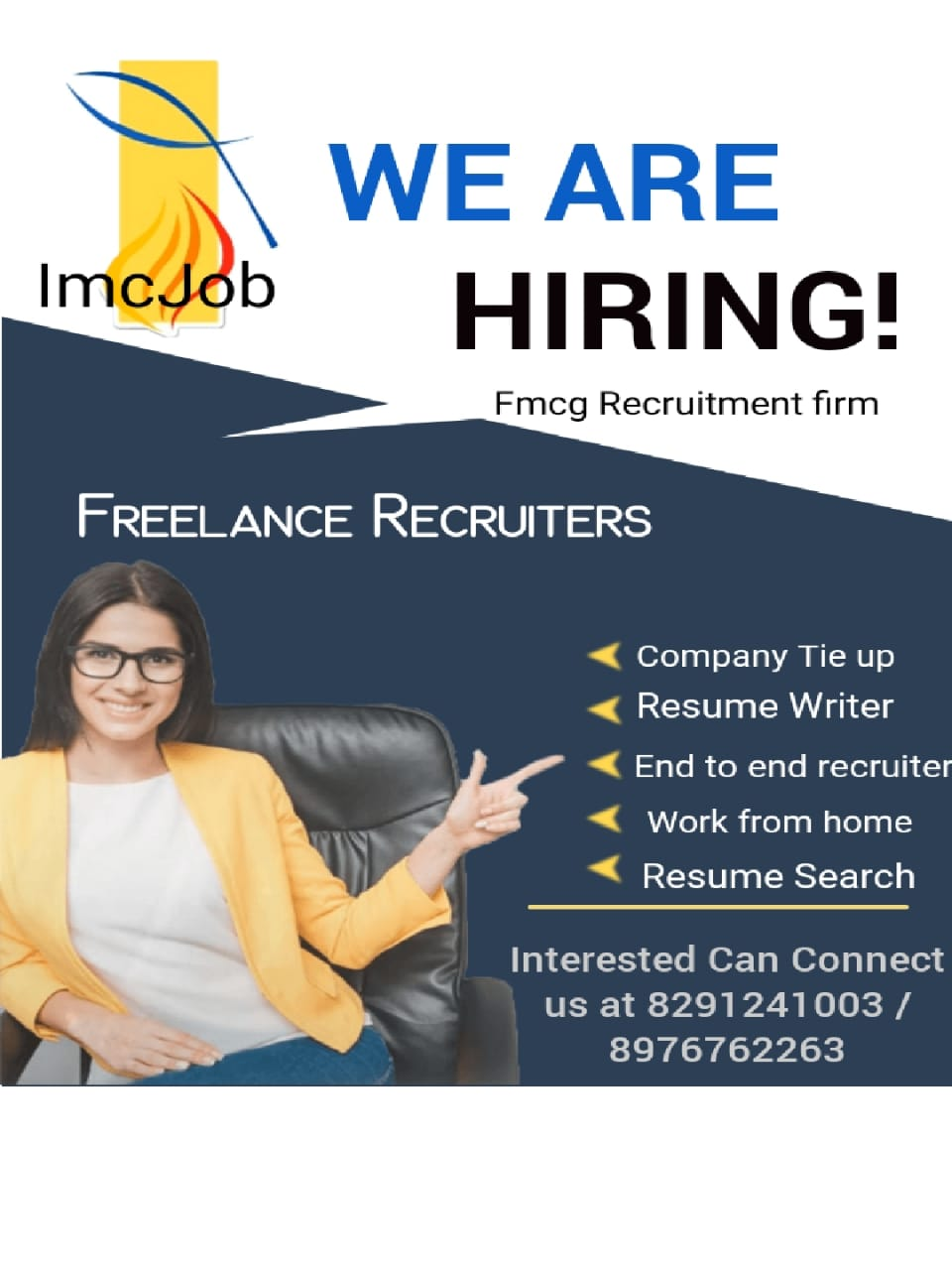 freelance recruiter jobs