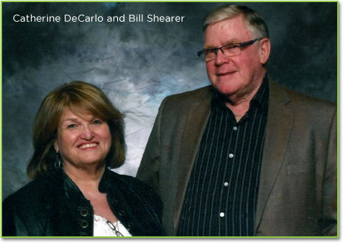 Catherine DeCarlo and Bill Shearer