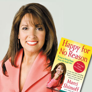 Marci Shimoff Happy for No Reason book