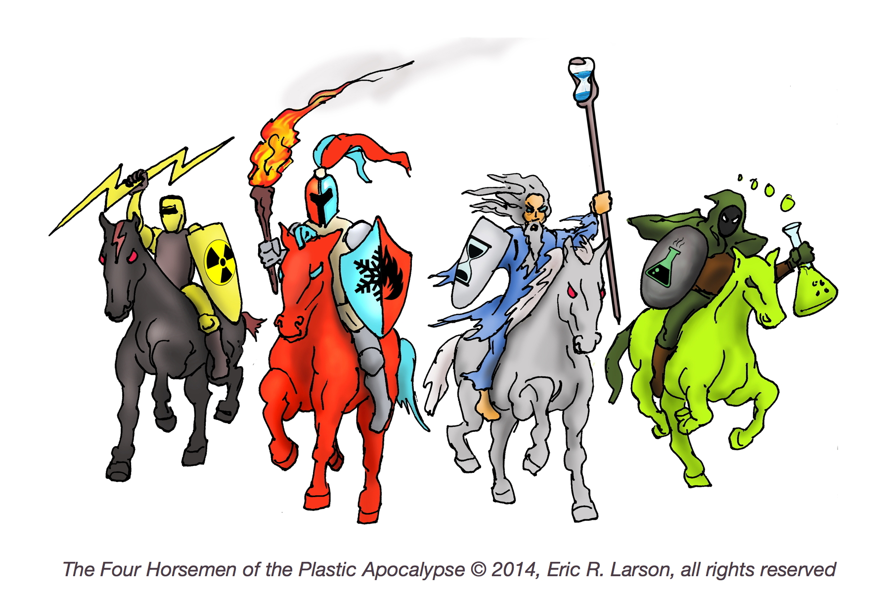 The Four Horsemen of the Plastic Apocalypse