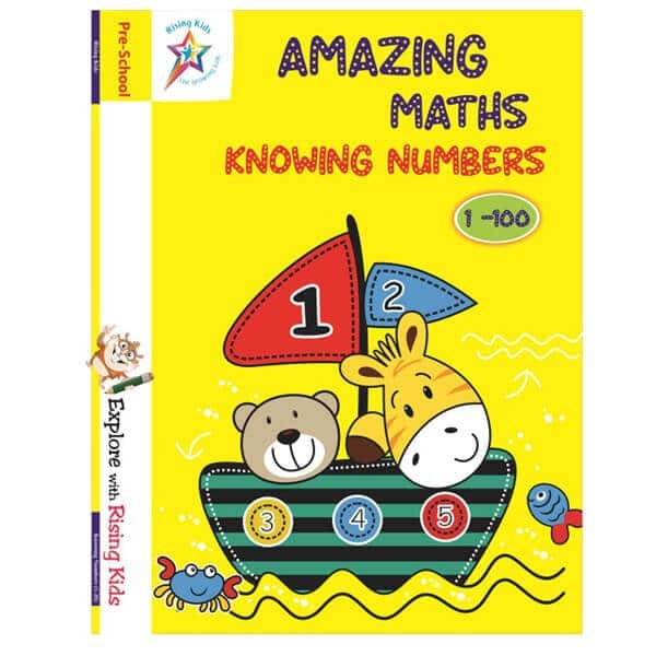 Amazing Maths Knowing Number 1-100 Counting Writing Book - Rising kids
