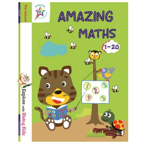Amazing Maths Knowing Numbers 1-20 - Rising Kids - Skool Store