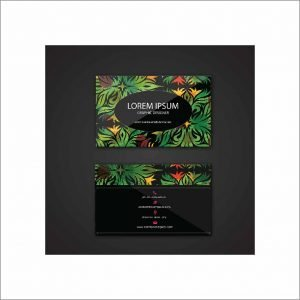 Black Business Card (pack of 100)