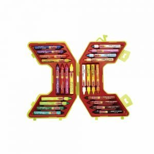 Camlin Jumbo Wax Crayon Set - 24 Shades (Multicolor)