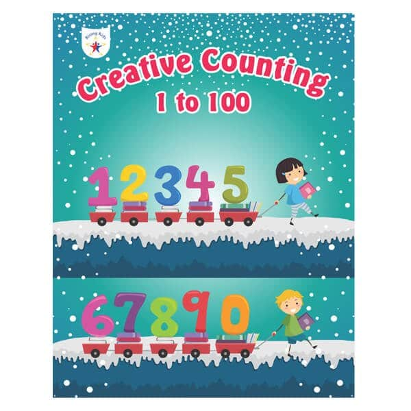 Creative Counting 1 to 100 (Number Activities for Kindergarten) - Rising kids -Skool Store