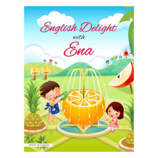 English Delight with ENA Cursive Small Letter Alphabet Book – Rising Kids