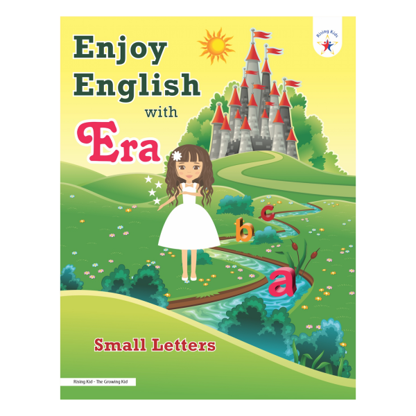 Enjoy English with Era Small Alphabet Letter Writing Book - Rising Kids