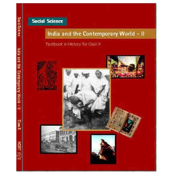 India And The Contemporary World - Part 2 Textbook In History For Class - 10th NCERT Book skool store